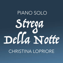 Strega Della Notte (Witch of the Night) - Halloween Piano Sheet Music