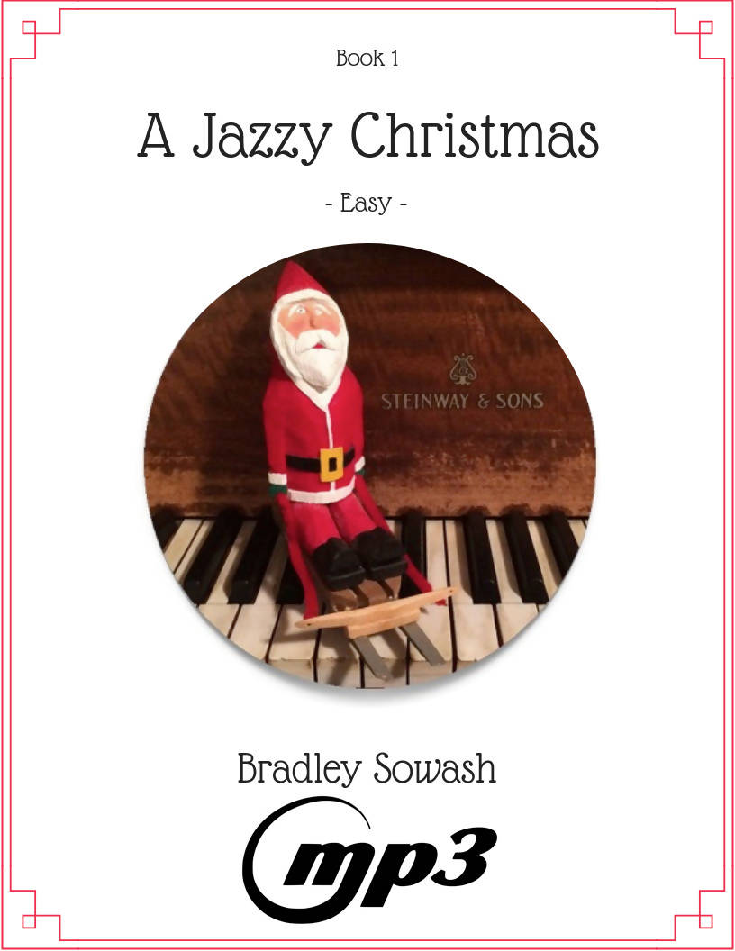 A Jazzy Christmas Book 1 - mp3 backing tracks