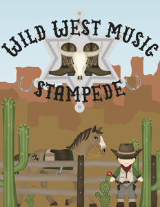 Wild West Music Stampede Camp Manual