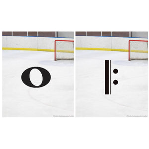 Music Symbols on Ice