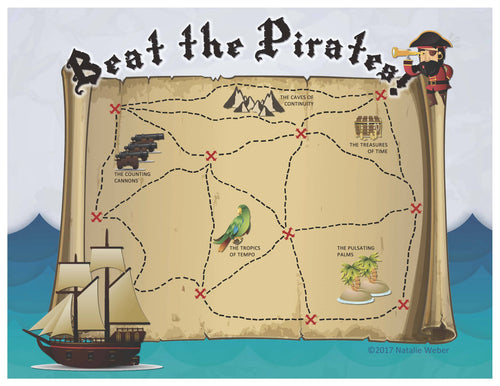 Beat the Pirates Practice Incentive Theme