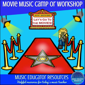 Movie Music Camp or Workshop