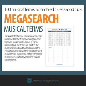 MegaSearch: Musical Terms