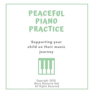 Peaceful Piano Practice