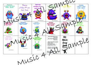 Brag Tags Scales Early Beginner