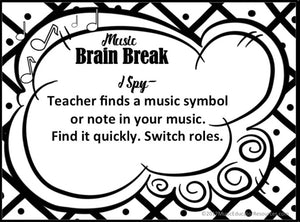 Music Brain Breaks