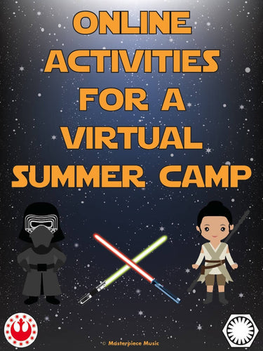 Online Activities for Jedi Journey Fun