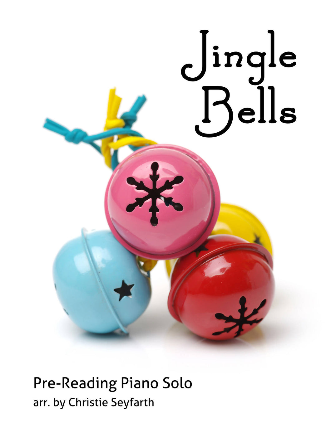 Jingle Bells: Pre-reading Piano Solo