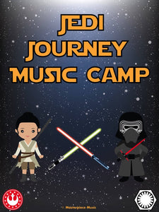 Sample Pages of Jedi Journey Camp Manual
