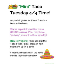 Mini-Taco Tuesday