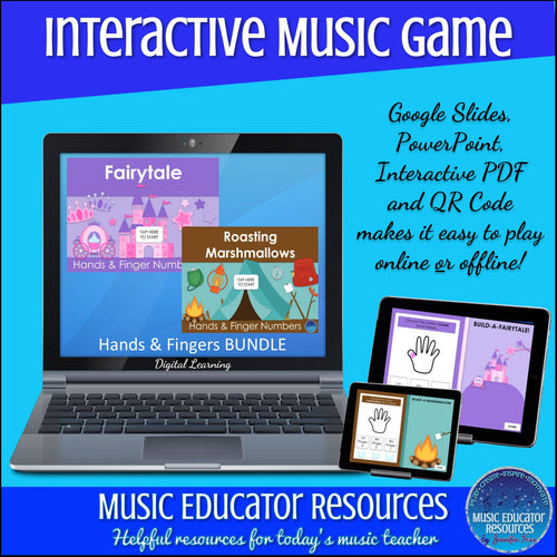 Hands and Fingers | BUNDLE | Interactive Digital Music Game