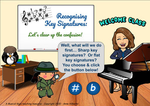 Key Signatures Made Easy - Interactive Tutorial