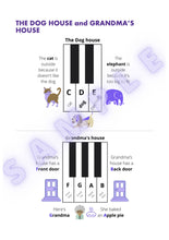 Intro to Piano Level 1 - Teacher licence. A4 paper size Digital Download
