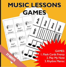 3-in-1 Music Lessons Games Essentials - Piano