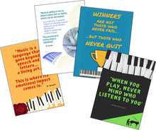 Music Motivation Posters & Cards!