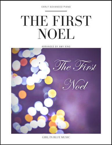 The First Noel — Early-Advanced Piano