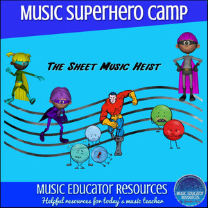 Music Superhero Camp