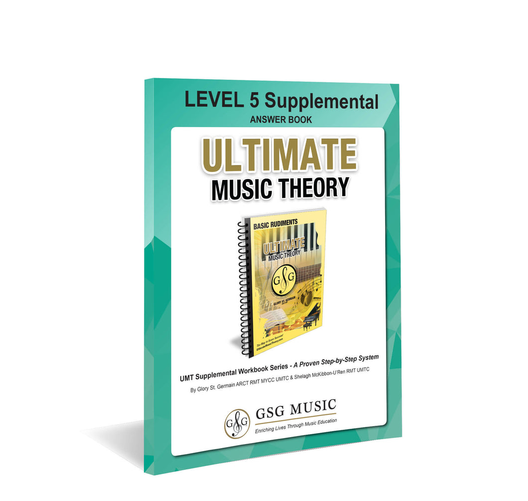 UMT LEVEL 5 Supplemental Answer Book