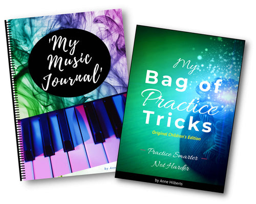 Practice Kit - 'My Bag of Practice Tricks' AND 'My Music Journal'