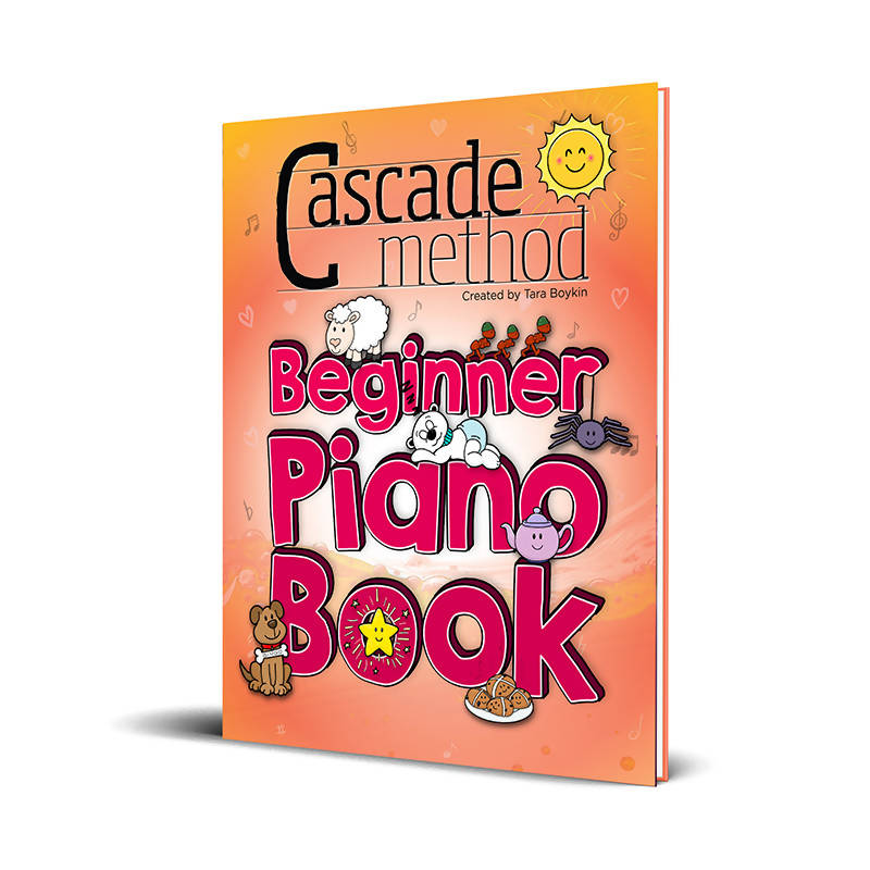 Beginner Piano Book (PDF Studio License)