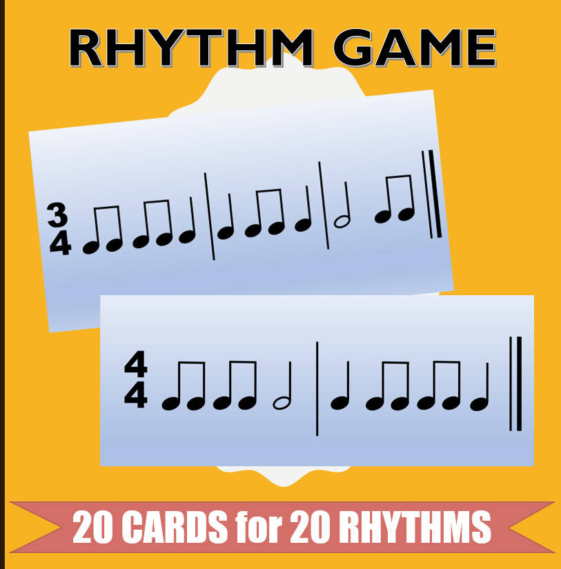 Rhythm Card Games