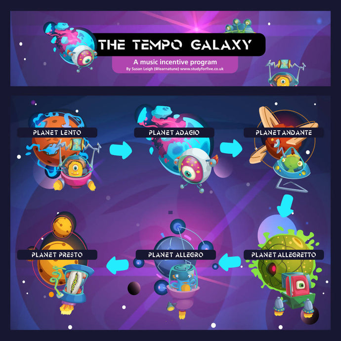 Tempo Galaxy: a music incentive program