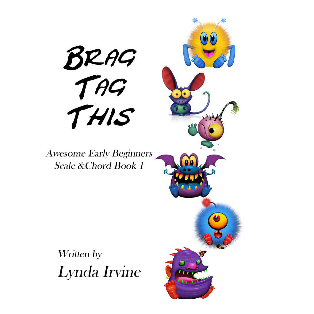 Brag Tag This Scale & Chord Book 1