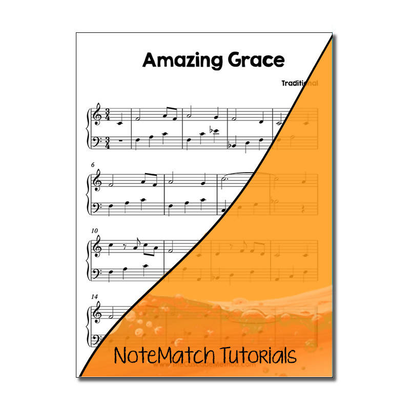 Amazing Grace (NoteMatch Tutorial)