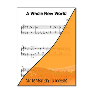 A Whole New World (NoteMatch Tutorial)
