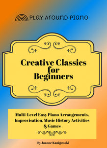 Piano Arrangements For Beginners