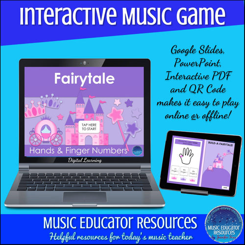 Fairytale | Hands and Finger Numbers | Interactive Digital Music Game