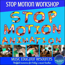 Stop Motion Animation Camp Workshop