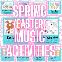 Spring (Easter) Music Activities