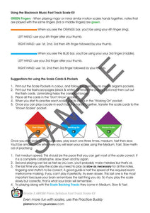 FAST TRACK SCALE KIT - ABRSM GRADE 3