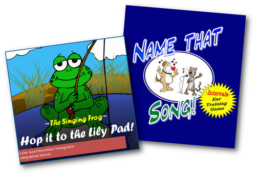 Ear Training Games Duo BUNDLE - 'Name that Song' & 'Hop IT!'