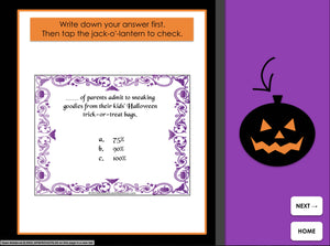 Halloween Trivia | FREE | Interactive Digital Game