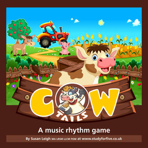 Cow Tails: a rhythm game