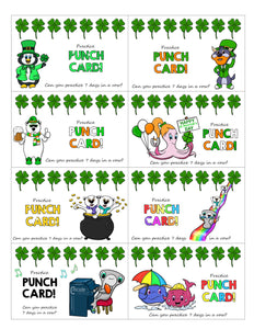 March Practice Punch Cards!