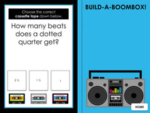 Build a Boombox | Rhythm 2 | Interactive Digital Music Game