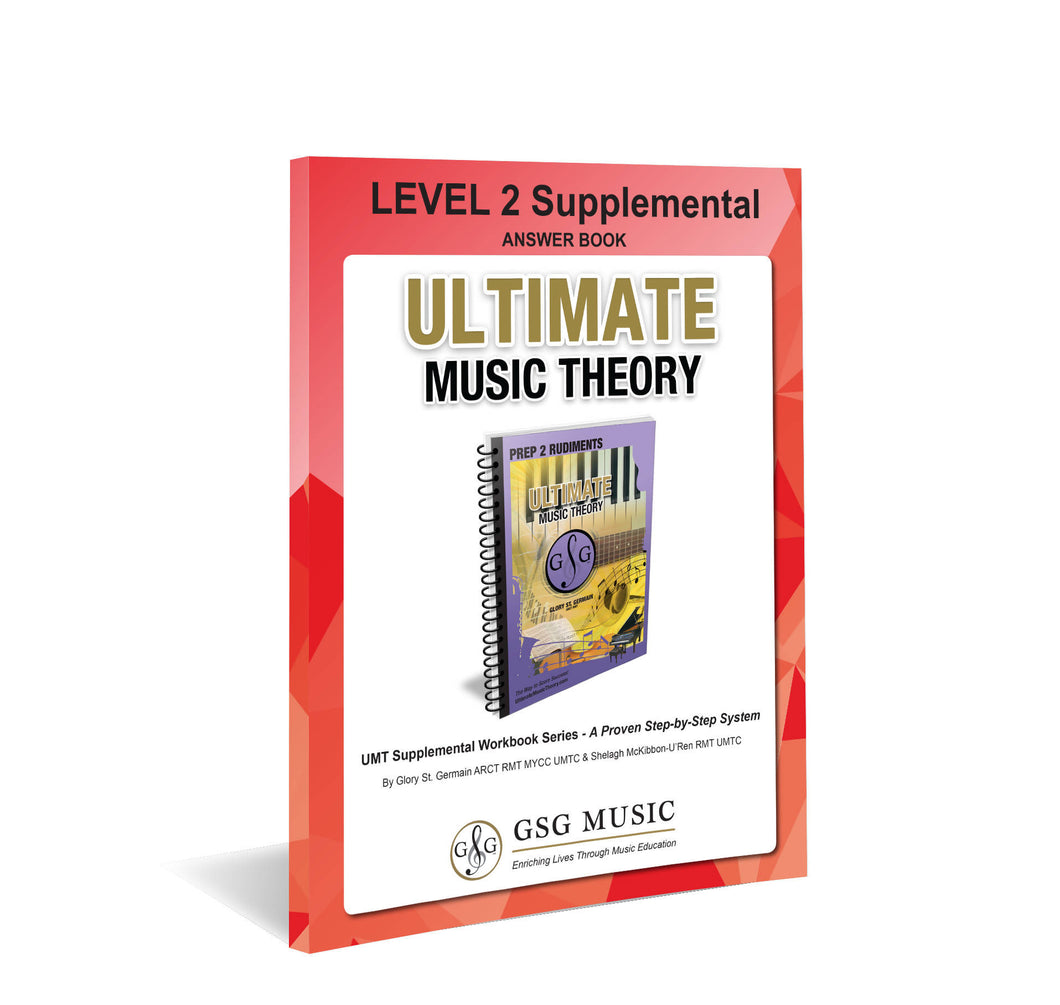 UMT LEVEL 2 Supplemental Answer Book