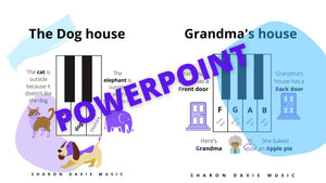 The Story of the Dog house and Grandma's house - Powerpoint