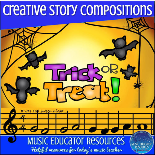 Creative Story Compositions: Trick or Treat! (Reproducible)