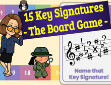 Key Signature DISCOUNT BUNDLE set - Tutorial and Game!