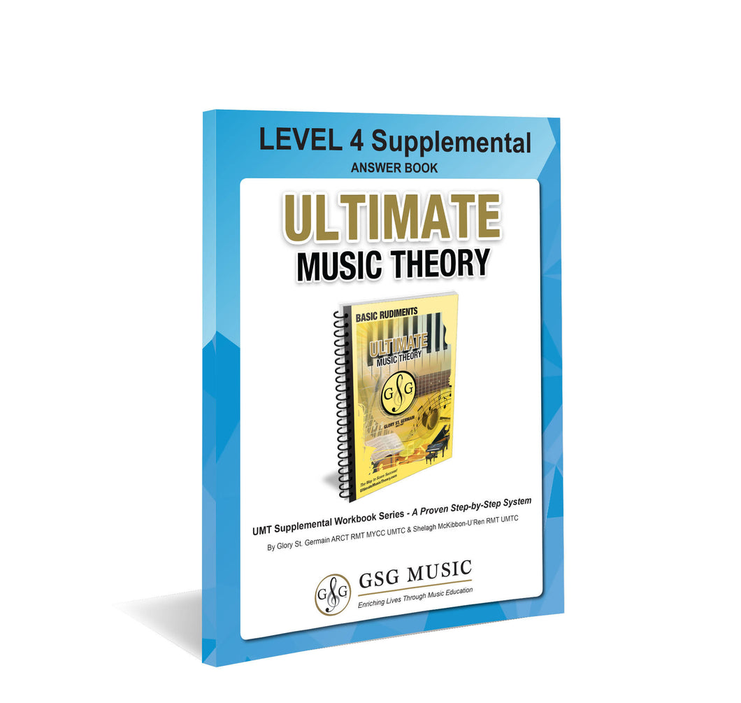 UMT LEVEL 4 Supplemental Answer Book