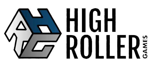 High Roller Games Logo