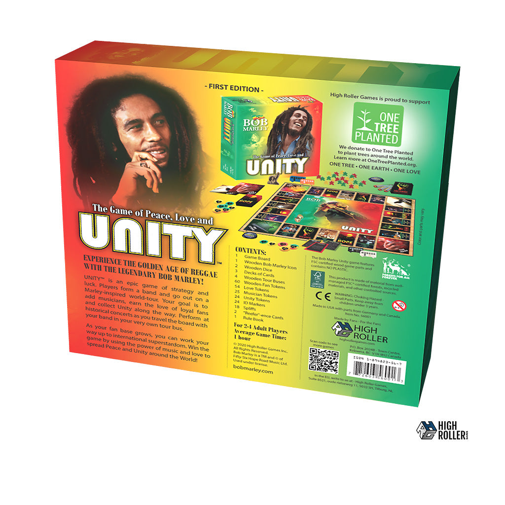 NEW! BOB MARLEY: The Game of Peace, Love and Unity
