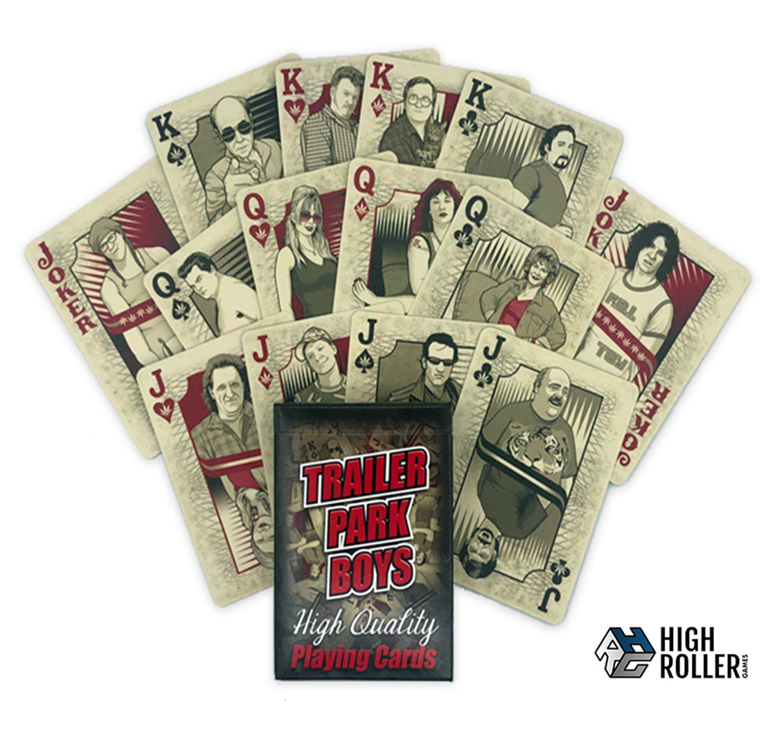 Trailer Park Boys Poker Cards