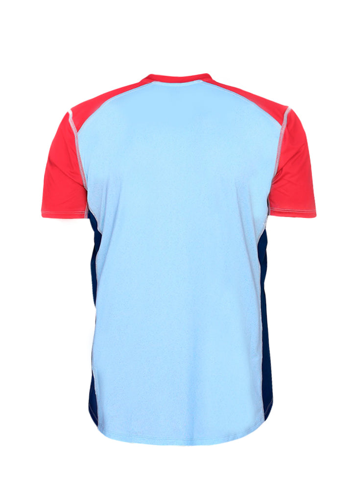 Men's Performance Tee with Mesh Inserts