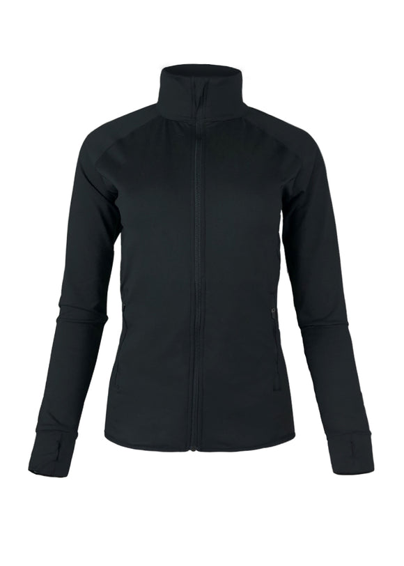 Women's Full Zip Scallop Jacket