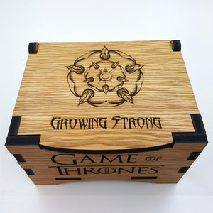 Game Of Thrones House Tyrell Oak Box